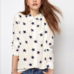 Equipment star blouse